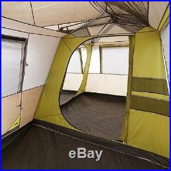 NEW OZARK TRAIL LARGE CAMPING CABIN TENT HIKING FAMILY 12 PERSON HUNTING 3 ROOM