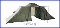 NEW Six Man Olive Green DUAL POD TENT Double Skin 6 Person Army Camping Shelter