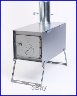 NEW! Wood Stove for Outfitter Canvas Wall Tent Camping