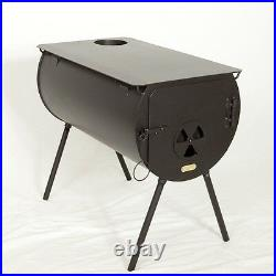 NEW! Yukon Cylinder Wood Stove for Wall Tent. Made in the USA