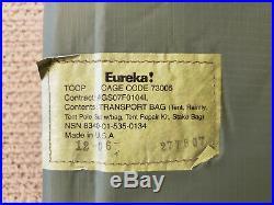 NIB Eureka TCOP Combat Tent One Person Woodland/ Tan USMC