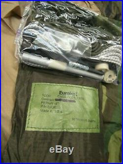 NIB Eureka TCOP Combat Tent One Person Woodland/ Tan USMC US GI