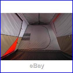 NO TAX! Ozark Trail 12 Person 3 Room L-Shaped Cabin Tent Hiking Fast set-up NEW