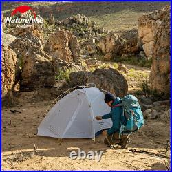 Naturehike 2 Men Camping Waterproof Dome Tent Ultralight 4 Season Outdoor Tent