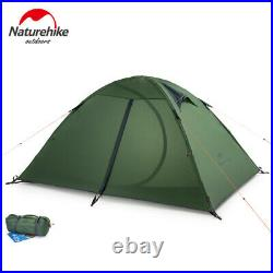 Naturehike Camping 1-2 Personen Zelt Outdoor Ultraleicht 3 Saison Grünes Zelt