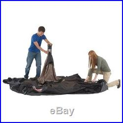New Coleman 14 x 10 Foot 8 Person Instant Two Room Family Tent with WeatherTec