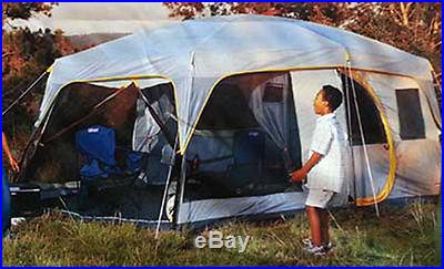 New Coleman Camping Tent 10 Person Family Weathermaster Screened 16' x 10' 6 7 8