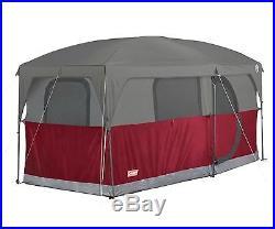 New Coleman Hampton 6 Person Family Camping Cabin Tent WeatherTec 13' x 7
