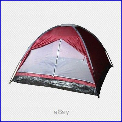 New Dome Tent For Family Camping Backpacking Hiking Beach Summer Privacy MCT2R
