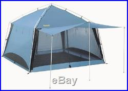 New Eureka! 2626300 Northern Breeze Screen House Blue Tent Camping 12 x 12 Feet