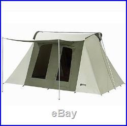 New Kodiak Canvas 10x14 ft. 6014 8 person Flex Bow Waterproof Deluxe Canvas Tent