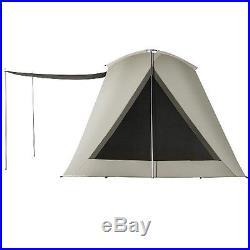 New Kodiak Canvas 6011VX Six-Person 10 x 10 Ft. Scout Camping Tent + tarp 0510