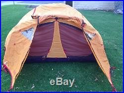 New Marmot Swallow 2 Person 3 Season Tent Classic Colors Camping Backpacking