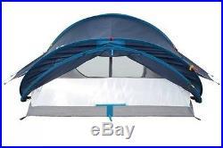 New! Quechua Waterproof Pop Up Camping Tent 2 Seconds XL AIR III, 3 Man