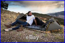 New Swag 1-Person Kodiak Canvas 8101K Tent with Free 2-inch Camping Pad