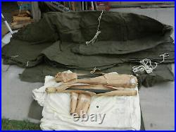 NewithOld stock SGP Canvas Military Tent
