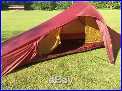 Nordisk Telemark 1 Carbon ULW Tent Ultra Lightweight Backpacking 1 Person