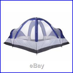 North Gear Camping Deluxe Waterproof 8 Person 2 Room Family Tent