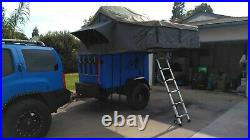 OFF-ROAD TRAILER with OVS roof-top tent