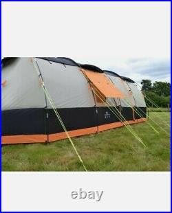 OLPro Wichenford Breeze 8 Berth Tunnel Tent Large Family Tent