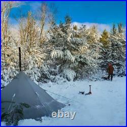 ONETIGRIS Hunting BUSCHRAFT UltraLight Smokey Chimney HOT TENT Coyote Brown