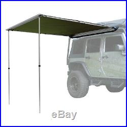 OffGrid Retractable Pull Out Roof Top Awning Sun Shade Shelter 6.5ft x 6.5ft