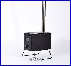 Outbacker Feuerungen Tragbar Holz Verbrennung Bell Zelt Herdplatte mit Gratis
