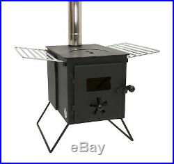 Outbacker Firebox Eco Burn Portable Wood Burning Tent Stove With Free Bag