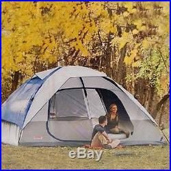 Outdoor Camping Tent Hiking Shelter 2 Room 8 Person Family Cabin Backpacking New