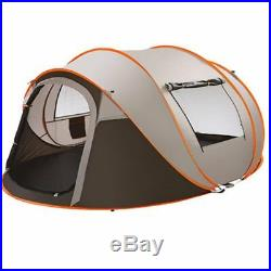 Outdoor Instant Pop Up Tent 5-6 Person Family Portable Waterproof Camping Tent