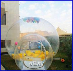 Outdoor Stargaze Tunnel Inflatable Bubble Glamping Camping Tent CE/UL BLOWER DHL