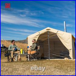 Outdoor Tent 12'x10' North Fork Outfitter Shelter Heavy Duty Temporary Home NEW