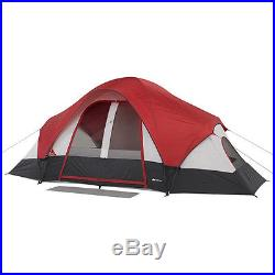 Outdoor Tent 8-Person 2 Rooms Camping Family Cabin Shelter Hiking Fishing NEW