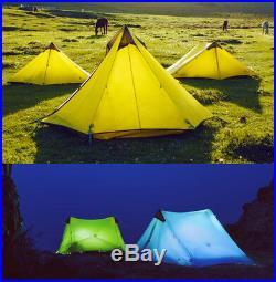 Outdoor Ultralight Camping Tent 3 Season New LanShan 2 3F UL GEAR 2 Person