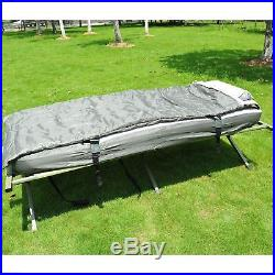 Outsunny 4in1 Portable Hiking Tent Camping Bed Cot Combo with Sleep Bag Mattress