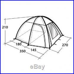 Outwell Arizona 300 (Spring Campaign 2018)blau Campingzelt Kuppelzelt 3-Personen
