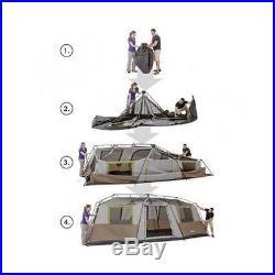 Ozark Trail 10 Person 3-room Instant Cabin Tent