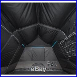 Ozark Trail 10-Person Dark Rest Instant Cabin Tent Electrical cord Access New
