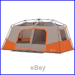 Ozark Trail 11 Person 3 Room Instant Cabin Tent Private Room Outdoor Camping