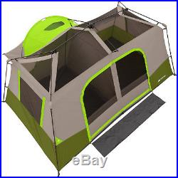 Ozark Trail 11 Person Tent 3 Room Instant Cabin Private Room Outdoor Camping