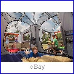 Ozark Trail 12-Person 3-Room Instant Cabin Tent Family Camping Tents NEW