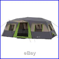 Ozark Trail 12-Person 3-Room Instant Cabin Tent Family Tents