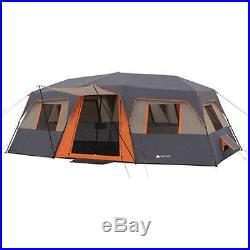 Ozark Trail 12-Person 3-Room Instant Family Camping Cabin Tent