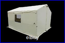 Ozark Trail 12x10 Wall Tent North Fork Outfitter with Stove Jack Camping Hunting