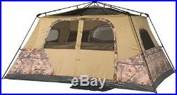 Ozark Trail 13' X 9' Instant Cabin Tent With Realtree Xtra Camo, Sleeps 8
