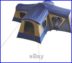 Ozark Trail 14 Person 4 Room Base Camp Cabin Tent Outdoor Travel Camping Shelter