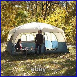 Ozark Trail 14' x 10' Tent Family Cabin Sleeps 10 Camping All Season