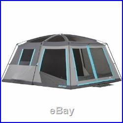 Ozark Trail 14' x 12' Half Dark Rest Frp Cabin Tent, Slee W