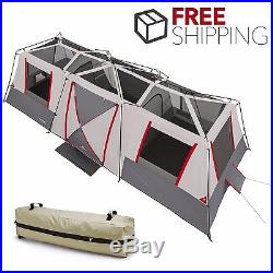 Ozark Trail 15 Person Instant Cabin Tent Large 3 Room Family