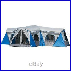 Ozark Trail 16-Person 3-Room Family Cabin Tent with 3 Entrances
